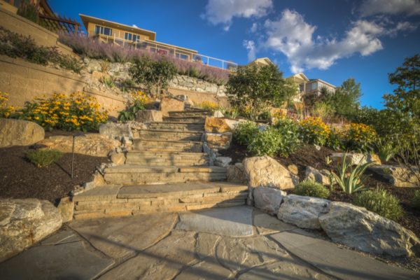 Stone Work Staircase