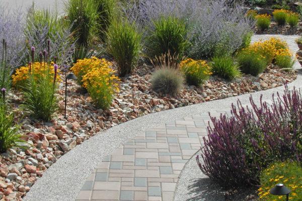Outdoor Stone Walkway