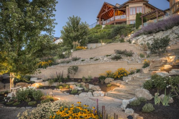 Retaining Walls and Rock Walls in Kelowna